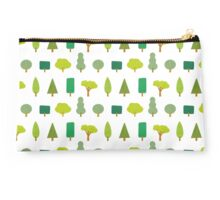 Trees and shapes Studio Pouch