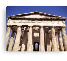 Temple of Haphaestus Canvas Print