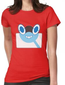 Rottom Pokedex - Pokemon Sun and Moon Womens Fitted T-Shirt