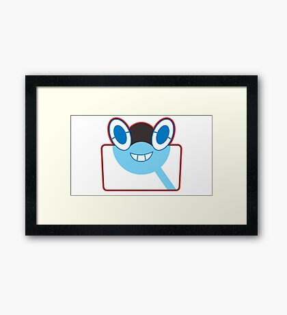Rottom Pokedex - Pokemon Sun and Moon Framed Print