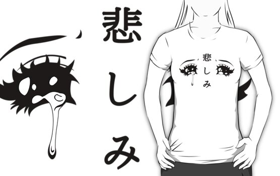 Quot Anime Eyes Quot Womens Fitted T Shirts By Hunnydoll Redbubble