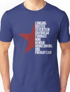winter soldier - ready to comply Unisex T-Shirt