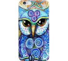 Spirit Owl, original illustration by Sheridon Rayment iPhone Case/Skin