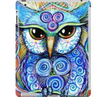 Spirit Owl, original illustration by Sheridon Rayment iPad Case/Skin