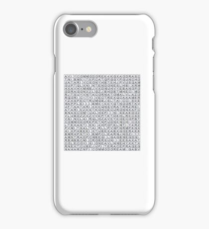 Find the retro techno..... iPhone Case/Skin