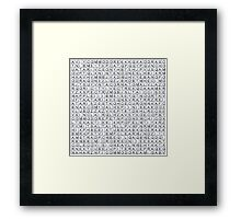 Find the retro techno..... Framed Print