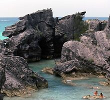 Hidden Cove @ .......... Bermuda by John Schneider