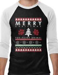 you CHRISTMAS FILTHY ANIMAL Men's Baseball ¾ T-Shirt
