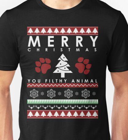 you CHRISTMAS FILTHY ANIMAL Unisex T-Shirt