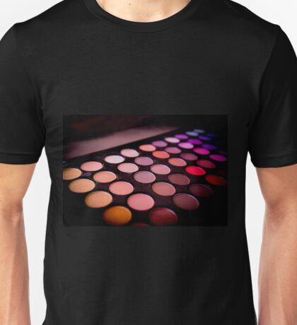 Eye shadow cosmetics Unisex T-Shirt