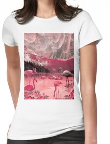 Flamingo Land Womens Fitted T-Shirt