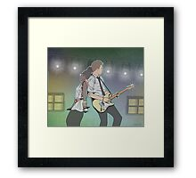 Asa in Concert Framed Print
