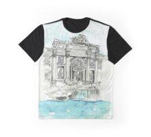 Fontana di Trevi - Rome Graphic T-Shirt