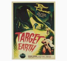 Vintage poster - Target Earth One Piece - Long Sleeve