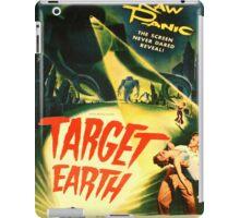 Vintage poster - Target Earth iPad Case/Skin