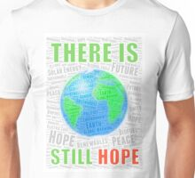 Global Warming Word Cloud - Design 1 Unisex T-Shirt