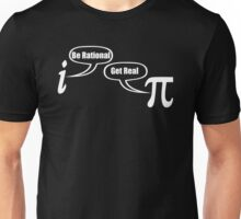BE RATIONAL GET REAL FUNNY MATH GEEK Unisex T-Shirt