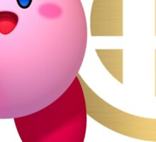 Kirby Super Smash Bros Sticker