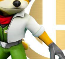 Fox Super Smash Bros Sticker
