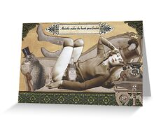 Absinthe Absentia Greeting Card