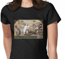 Absinthe Absentia Womens Fitted T-Shirt