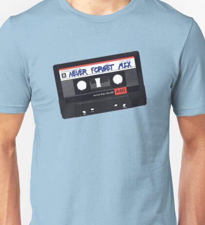 Never Forget Cassettes Unisex T-Shirt