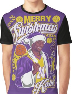 Kobe Bryant Merry Swishmas Tee Graphic T-Shirt