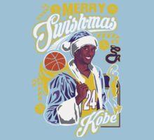 Kobe Bryant Merry Swishmas Tee Kids Tee