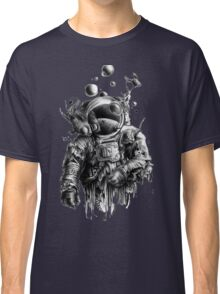 Undead astronaut floating in space Classic T-Shirt