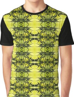 4. Nature Lover (Flora): Green Tropical Leaves Graphic T-Shirt