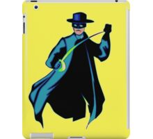 Zorro Pop Art iPad Case/Skin