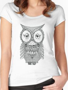 Owl be seeing you Women's Fitted Scoop T-Shirt