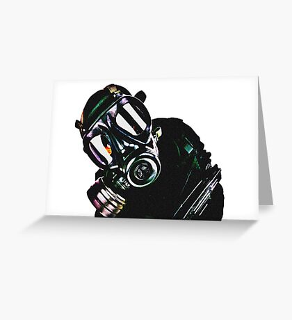 Military Man Greeting Card