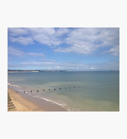 Bridlington Beach Photographic Print