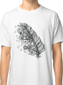 Feather to flowers Classic T-Shirt