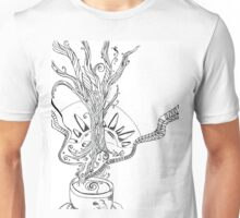 Morning Coffee Doodle Unisex T-Shirt