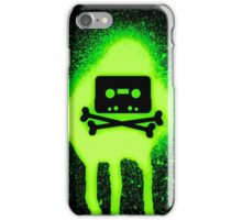 Cassette Tape and Bones iPhone Case/Skin