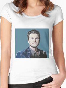 Blake Shelton Women's Fitted Scoop T-Shirt