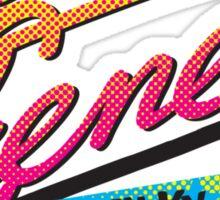 Lila Cheney Milky Way Tour '86 Sticker