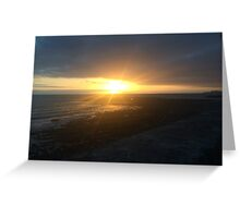 Tenerife Sunset Greeting Card