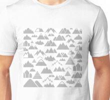 Mountain a background Unisex T-Shirt