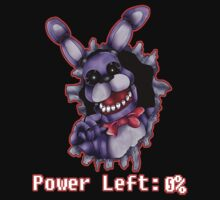 FIVE NIGHTS AT FREDDY'S-Bonnie- Power Left 0% by acidiic