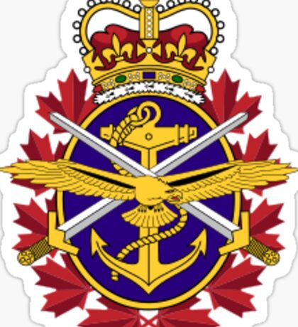 Canadian Armed Forces Sticker
