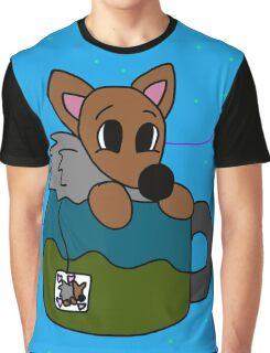 Hedgehog Tea Graphic T-Shirt