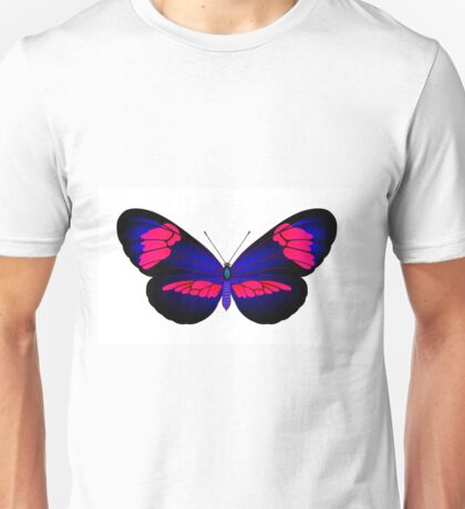 Full color danaida butterfly Unisex T-Shirt
