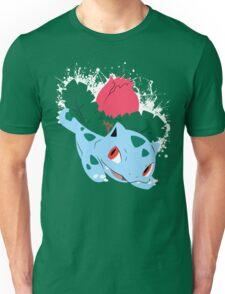 Ivysaur Splatter Unisex T-Shirt