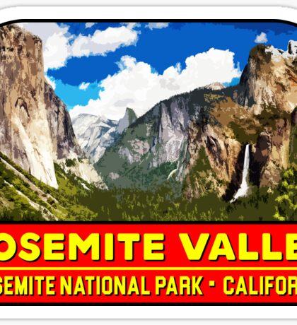YOSEMITE VALLEY NATIONAL PARK CALIFORNIA MOUNTAIN HIKING CAMPING CLIMBING Sticker