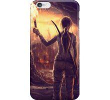 Tomb Raider Reborn iPhone Case/Skin