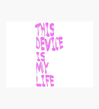 Phone is Life Photographic Print