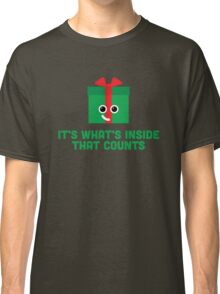 Christmas Character Building - It's whats inside… Classic T-Shirt